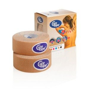 CureTape Classic Kinesiology Tape Beige 25mm
