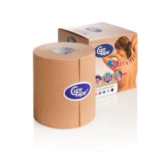 CureTape Kinesiology Tape Beige (skin colored) 7,5cm