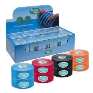 VetkinTape kinesiology tape 3cm displaybox