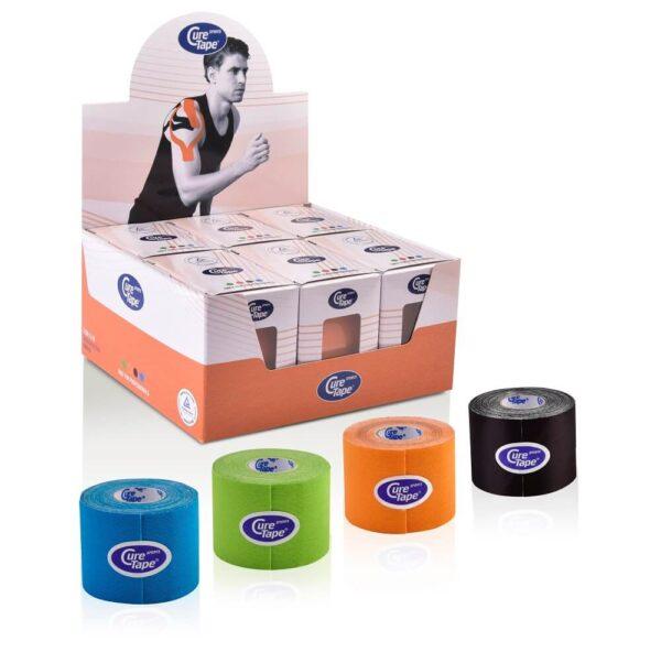 CureTape Kinesiology Tape Sport Assortiment 5cm